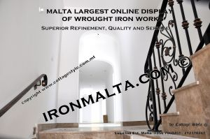 wall handrails iron stairs malta works wrought iron and metal works  ironmalta.com a7.JPG