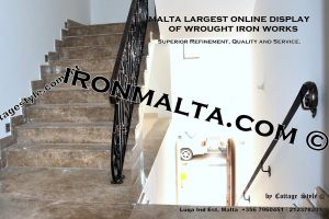 wall handrails iron stairs malta works wrought iron and metal works  ironmalta.com a8.JPG
