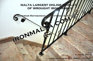 wall handrails iron stairs malta works wrought iron and metal works  ironmalta.com a9.JPG