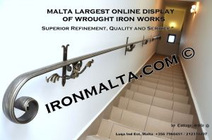 wall handrails iron stairs malta works wrought iron and metal works  ironmalta.com a1.jpg