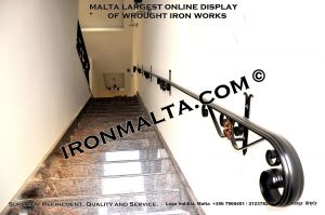 wall handrails iron stairs malta works wrought iron and metal works  ironmalta.com b1.JPG