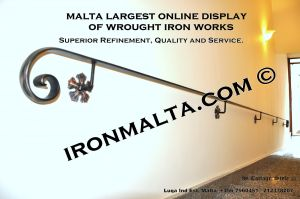 wall handrails iron stairs malta works wrought iron and metal works  ironmalta.com b6.JPG