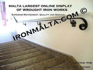 wall handrails iron stairs malta works wrought iron and metal works  ironmalta.com b4.JPG