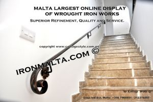 wall handrails iron stairs malta works wrought iron and metal works  ironmalta.com a6.JPG