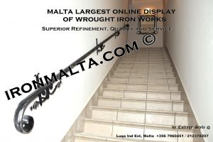 -wall handrails iron stairs malta works wrought iron and metal works  ironmalta.com a4.JPG