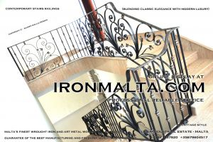 1aa1 stairs railings malta modern contemporary staircases wrought iron art metal steel works design-c2.JPG