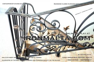 1aa2a stairs railings malta modern contemporary staircases wrought iron art metal steel works design.JPG