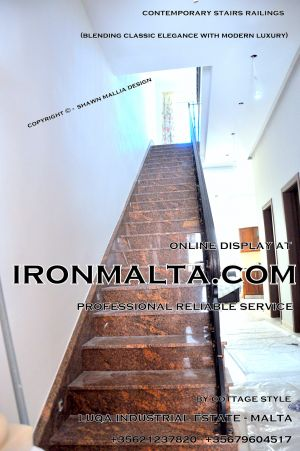 1aa4 stairs railings malta modern contemporary staircases wrought iron art metal steel works design.JPG