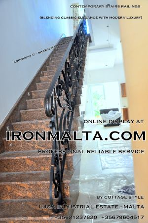 1aa5 stairs railings malta modern contemporary staircases wrought iron art metal steel works design.JPG