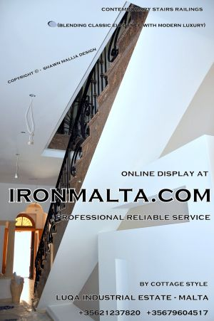 1aa6 stairs railings malta modern contemporary staircases wrought iron art metal steel works design-c73.JPG