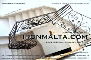 1ab1 stairs railings malta modern contemporary staircases wrought iron art metal steel works design.JPG