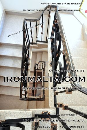 1ab2b stairs railings malta modern contemporary staircases wrought iron art metal steel works design-c28.JPG