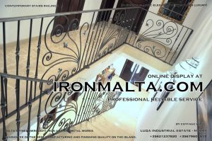 1ac1 stairs railings malta modern contemporary staircases wrought iron art metal steel works desing.JPG