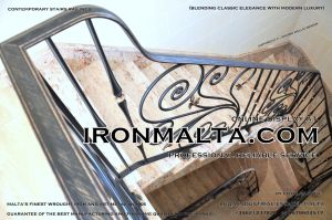 1ac5 stairs railings malta modern contemporary staircases wrought iron art metal steel works desing.JPG