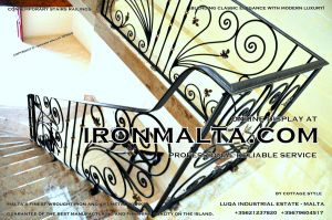 1ac8 stairs railings malta modern contemporary staircases wrought iron art metal steel works design.JPG
