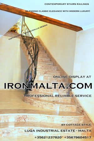 1ac9 stairs railings malta modern contemporary staircases wrought iron art metal steel works design.JPG