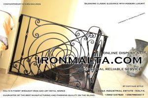 1ad1 stairs railings malta modern contemporary staircases wrought iron art metal steel works design.JPG