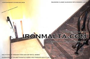 1ad3 stairs railings malta modern contemporary staircases wrought iron art metal steel works desing.JPG