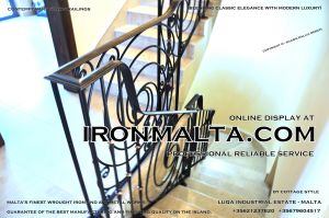 1ad4 stairs railings malta modern contemporary staircases wrought iron art metal steel works desing-c99.JPG