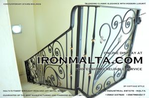 1ae4 stairs railings malta modern contemporary staircases wrought iron art metal steel works design.JPG
