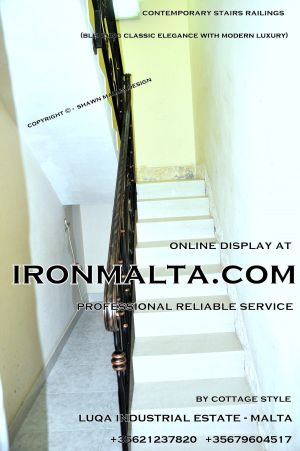 1ae6 stairs railings malta modern contemporary staircases wrought iron art metal steel works design.JPG
