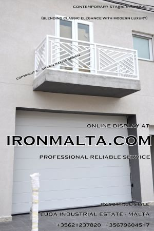1afcb stairs railings malta modern contemporary staircases wrought iron art metal steel works design.JPG