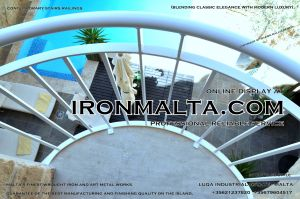 1ah2 stairs railings malta modern contemporary staircases wrought iron art metal steel works design-c91.JPG