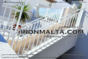 1ah4 stairs railings malta modern contemporary staircases wrought iron art metal steel works design.JPG