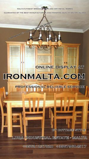 malta wrought iron metal wood chandeliers lights ideally for house of characters,  farmhouses and town houses 3 traditional