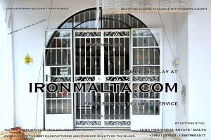 Security iron works malta home house property modern contemporary white black grey steel metal doors winows in mlata 3.JPG