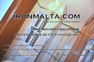 home house security  iron works doors windows modern classic protation alarm cameras gates pregnant windows malta metal steel works A 7b.JPG