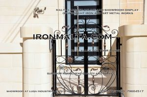facade house names house signs solid wrought  iron sheet metal steel galvanizied classic rustic modern black white grey ironmalta.com cottage style malta a3.JPG