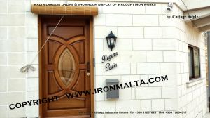 facade house names house signs solid wrought  iron sheet metal steel galvanizied classic rustic modern black white grey ironmalta.com cottage style malta b2.jpg