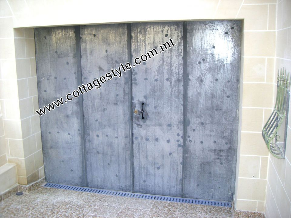 1 Door Gate (Garage Door) www.cottagestyle.com.mt.JPG