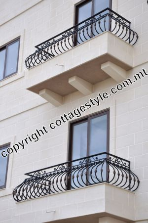 Balconies Pragnent style at www.cottagestyle.com.mt 5.JPG
