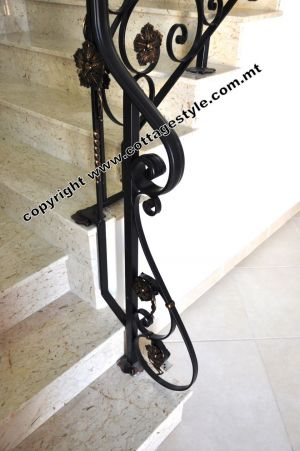 68A Stairs Railings @ Cottage Style.com.mt Samples.JPG