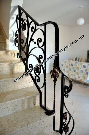 70A Stairs Railings @ Cottage Style.com.mt Samples.JPG