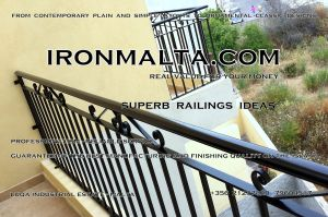 a9a wrought iron works malta  balcony balconies galvanized sprayied coated exterior design ideas modern contemporary classic plain white black grey.jpg