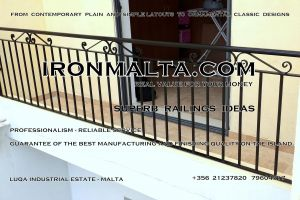 a9c wrought iron works malta  balcony balconies galvanized sprayied coated exterior design ideas modern contemporary classic plain white black grey.jpg