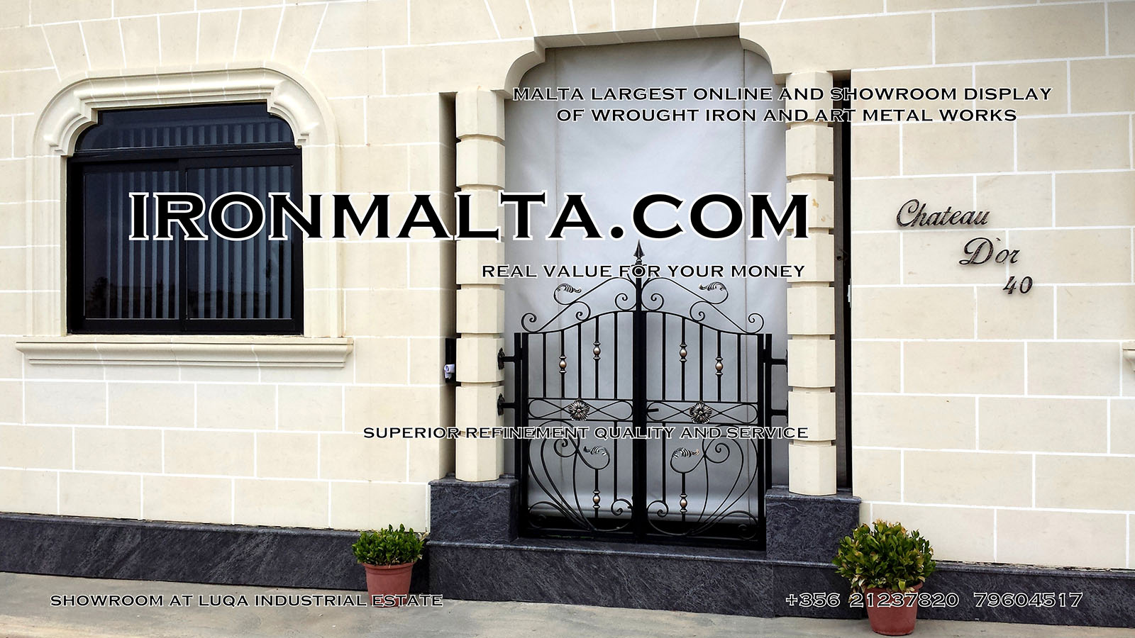Facade House Names Signs Solid Wrought Iron Sheet Metal Steel Galvanizied Clic Rustic Modern Black